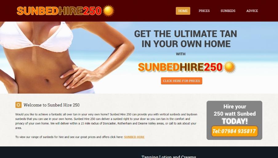 sunbedhire250uk