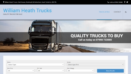William Heath Trucks